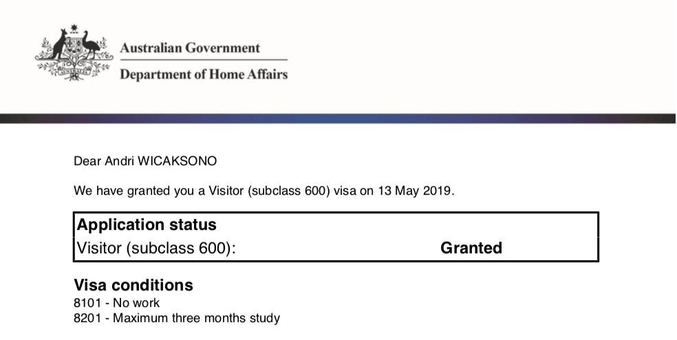 Membuat Visa Australia Secara Online Mei 2019 Jalan Jalan